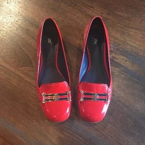 Tory Burch red flats 6